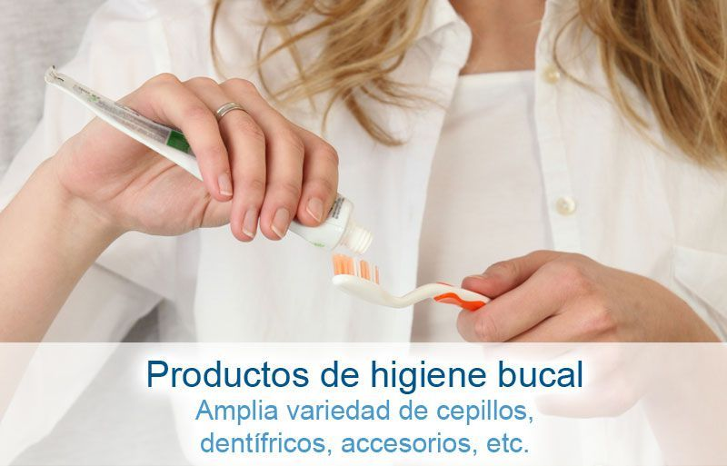 Productos de higiene bucal